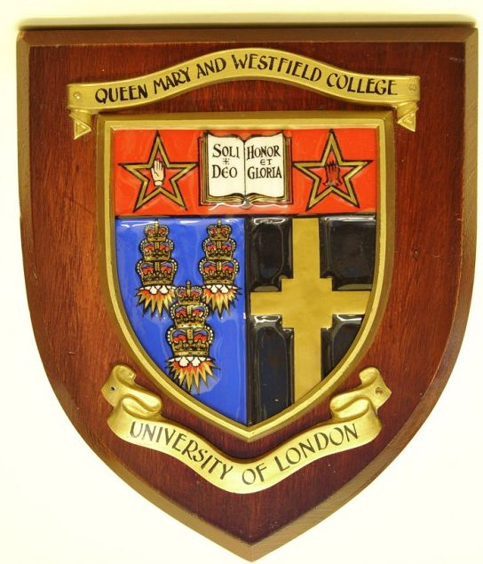 Coat of arms (crest) of Queen Mary and Westfield College