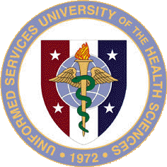 Coat of arms (crest) of the Uniformed Services University of the Health Sciences, US