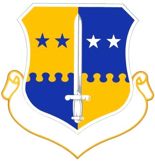 Coat of arms (crest) of the 4th Air Division, US Air Force
