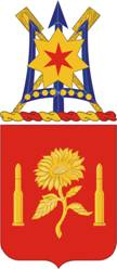 center Arms of 29th Field Artillery Regiment, US Army