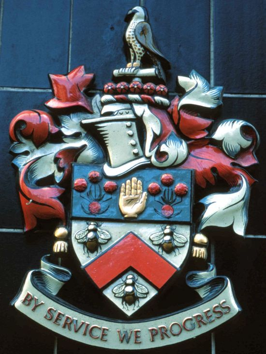 Arms of Burnley Building Society