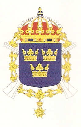 Coat of arms (crest) of the 1st Infantry Regiment Svea Life Guards, Swedish Army