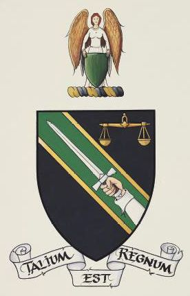Arms of Irish Society for the Prevention of Cruelty to Children
