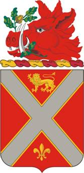 Coat of arms (crest) of the 118th Field Artillery Regiment, Georgia Army National Guard