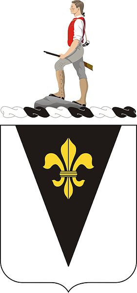 Coat of arms (crest) of the 329th Infantry Regiment, US Army