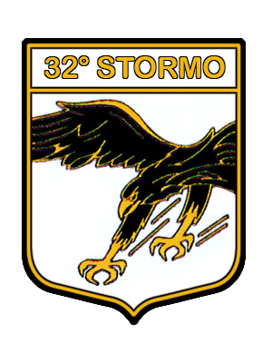 Coat of arms (crest) of the 32nd Wing Armando Boetto, Italian Air Force