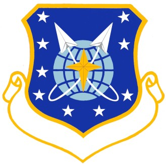 Coat of arms (crest) of the 9th Space Division, US Air Force