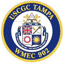 Coat of arms (crest) of the USCGC Tampa (WMEC-902)