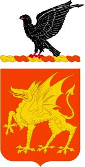 Arms of 1st Cavalry Regiment, US Army
