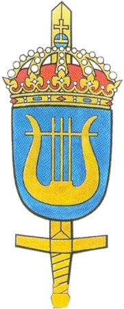 Coat of arms (crest) of the Defence Forces Musical Center, Sweden