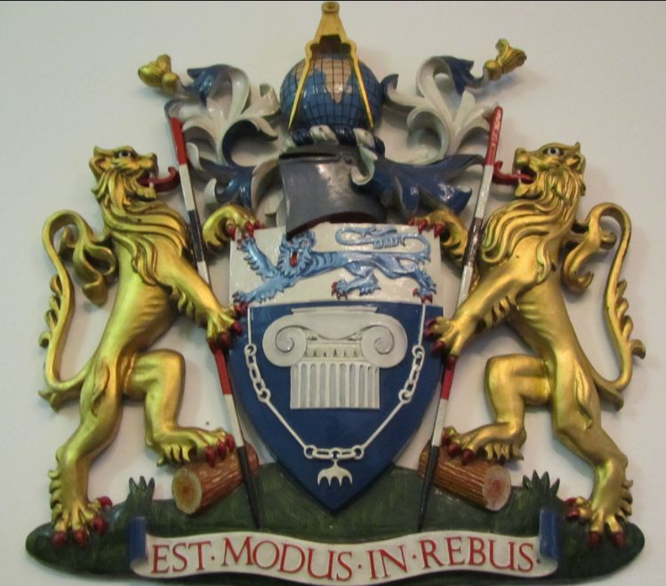 Arms of Royal Institution of Chartered Surveyors