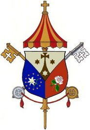 Arms (crest) of Basilica of the National Shrine of the Little Flower, San Antonio
