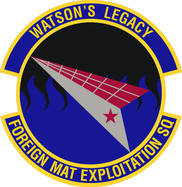 File:Foreign Material Exploitation Squadron, US Air Force.png