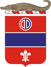 Coat of arms (crest) of the 116th Field Artillery Regiment, Florida Army National Guard