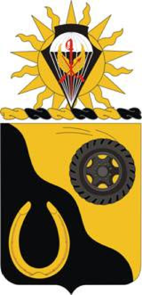 Coat of arms (crest) of the 91st Cavalry Regiment, US Army