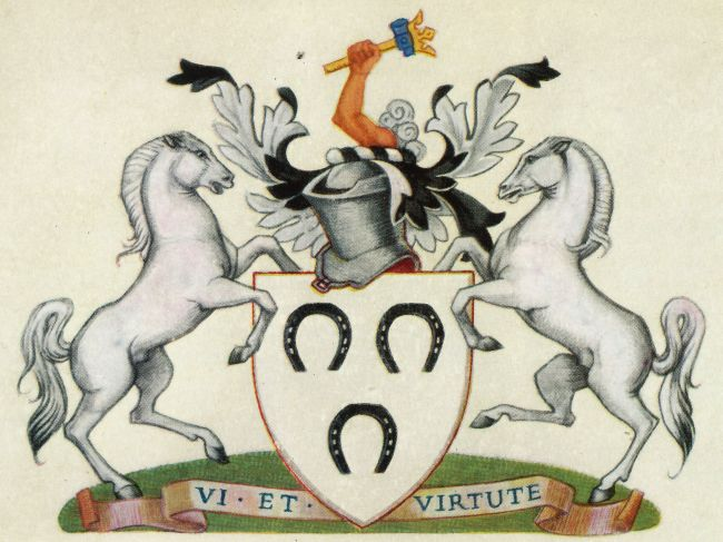 Arms of Worshipful Company of Farriers