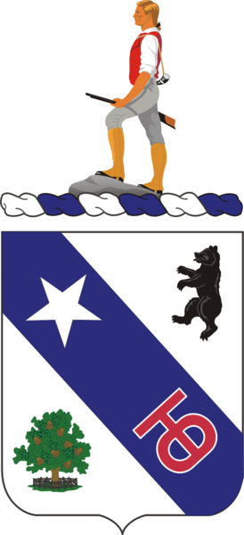 Arms of 360th (Infantry) Regiment, US Army