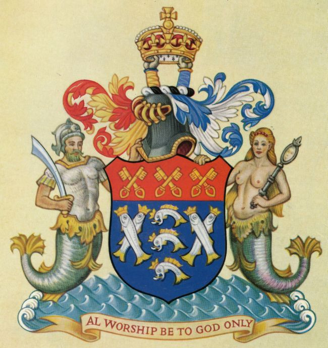 Arms of Worshipful Company of Fishmongers