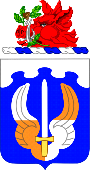 Coat of arms (crest) of the 171st Aviation Regiment, Georgia Army National Guard