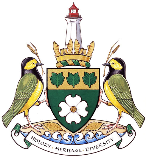 Arms (crest) of Norfolk County