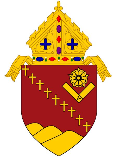 Arms (crest) of Diocese of San Jose in California
