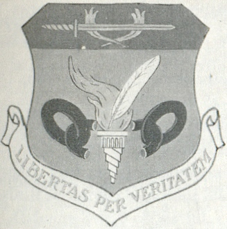 Coat of arms (crest) of the 581st Air Resupply and Communications Wing, US Air Force
