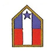 Coat of arms (crest) of the North West Service Command, US Army