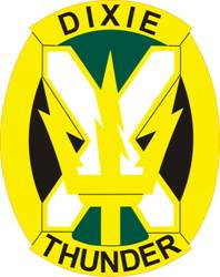 Arms of 155th Armored Brigade Combat Team, Mississippi Army National Guard