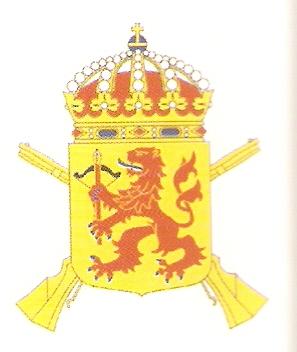 Coat of arms (crest) of the 11th Infantry Regiment Kronoberg Regiment, Swedish Army