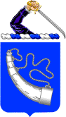 Arms of 181st Infantry Regiment, Massachusetts Army National Guard