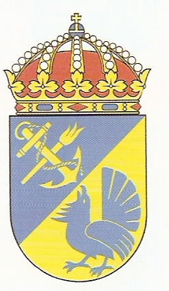 Coat of arms (crest) of the Berga Naval Schools, Swedish Navy