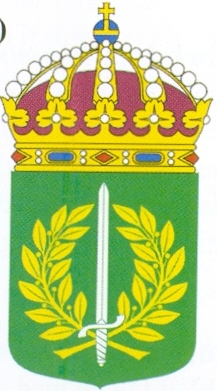 Coat of arms (crest) of the Military Academy Östersund, Sweden