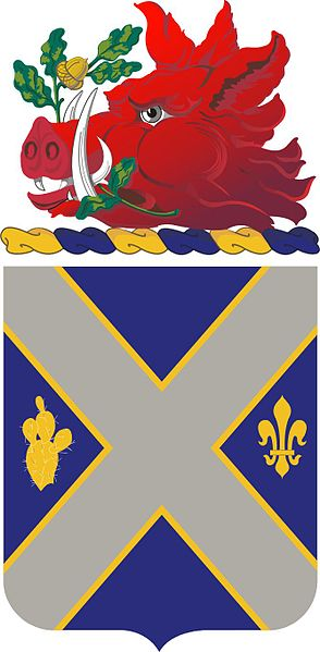 Arms of 121st Infantry Regiment, Georgia Army National Guard