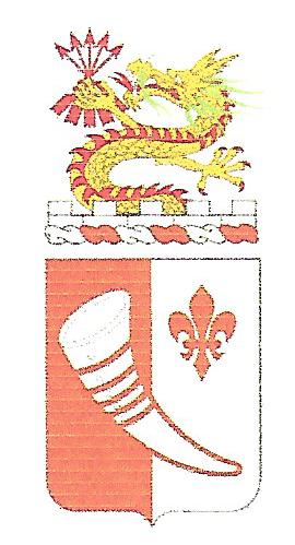 Arms of 69th Signal Battalion, US Army