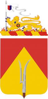 Arms of 94th Field Artillery Regiment, US Army