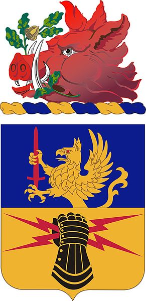 Coat of arms (crest) of the 348th Support Battalion, Georgia Army National Guard