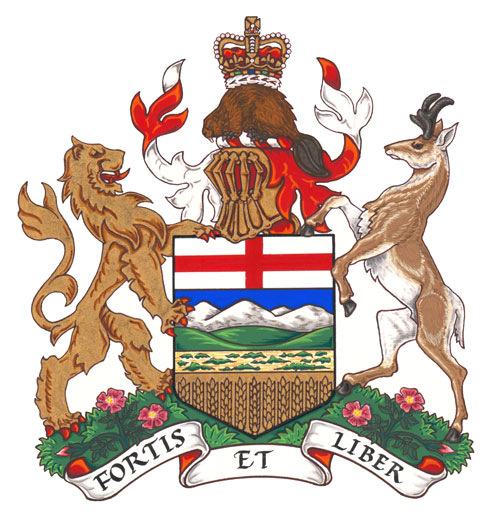 Arms (crest) of Alberta