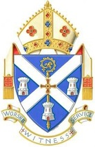 Arms (crest) of Diocese of Hexham and Newcastle