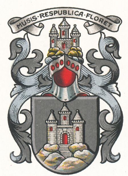 Coat of arms (crest) of Royal High School, Edinburgh