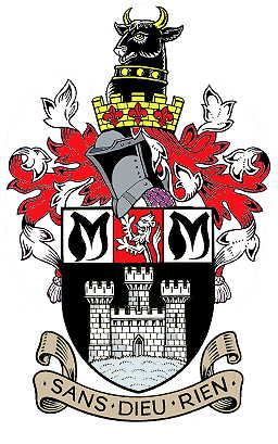Arms (crest) of Ashby-de-la-Zouch
