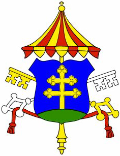 Arms of Basilica of the Exaltation of the Holy Cross, ​Kežmarok