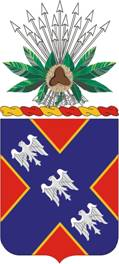 Coat of arms (crest) of the 134th Field Artillery Regiment, Ohio Army National Guard