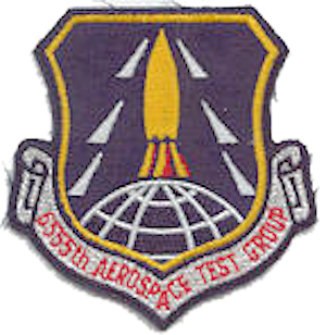Coat of arms (crest) of the 6555th Aerospace Test Group, US Air Force