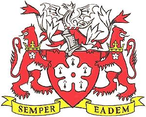 Arms (crest) of Leicester