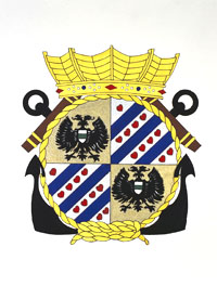 Coat of arms (crest) of the Zr.Ms. Groningen, Netherlands Navy