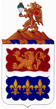 Coat of arms (crest) of the 407th Brigade Support Battalion, US Army