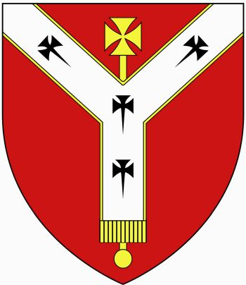 Arms (crest) of Archdiocese of Westminster