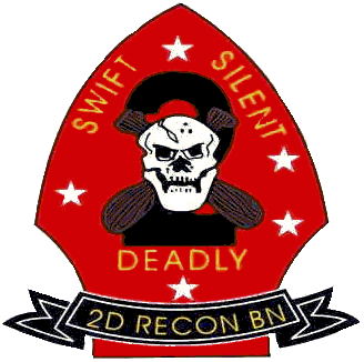 Coat of arms (crest) of the 2nd Reconnaissance Battalion, USMC