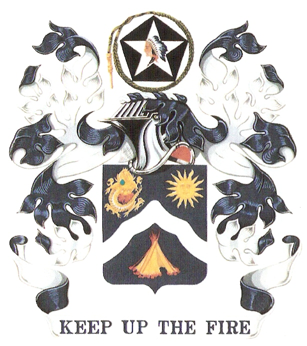 center Arms of 9th Infantry Regiment, US Army