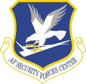 Coat of arms (crest) of the Air Force Security Forces Center, US Air Force